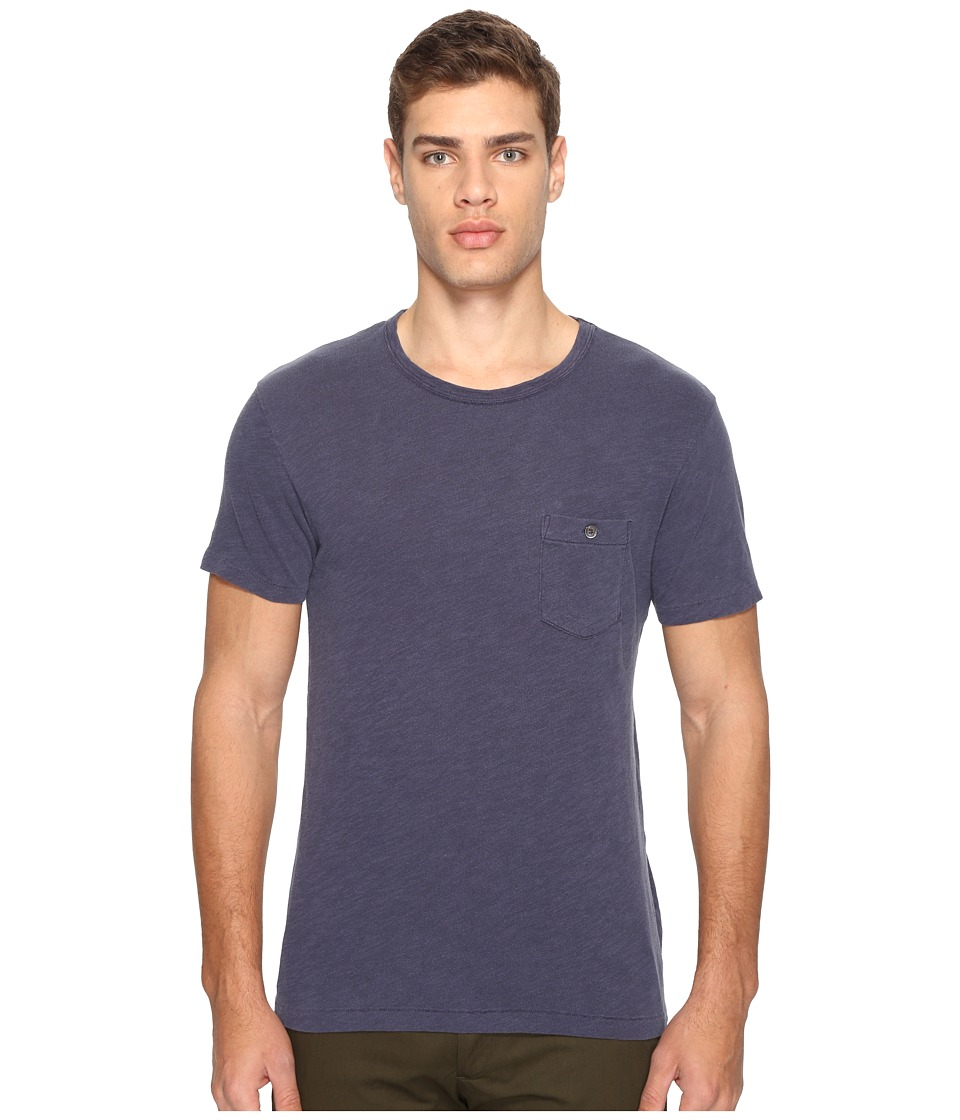 Todd Snyder - Classic Pocket T-Shirt (Navy) Men's T Shirt