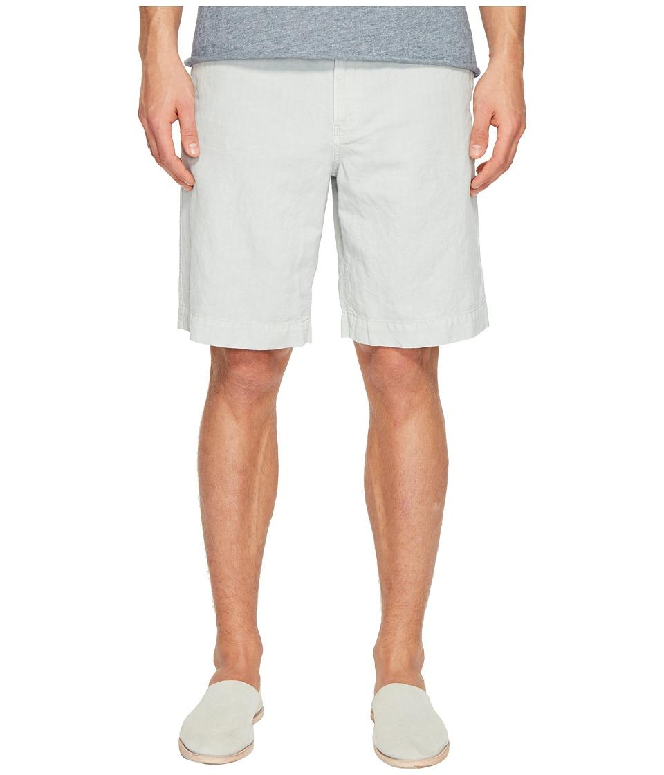 Billy Reid - Clyde Linen Shorts (Sea Blue) Men's Shorts