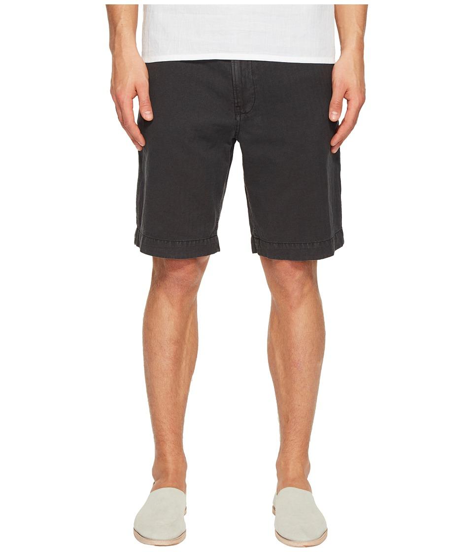 Billy Reid - Clyde Linen Shorts (Black) Men's Shorts
