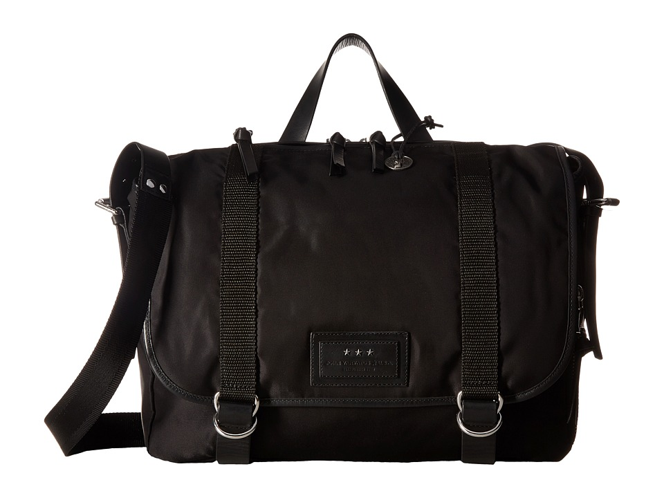 John Varvatos Star U.S.A. - Messenger Bag (Black) Messenger Bags