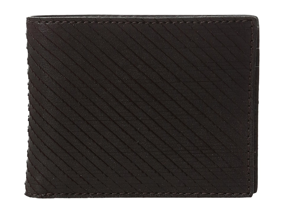 John Varvatos - Bifold Wallet (Chocolate) Bi-fold Wallet