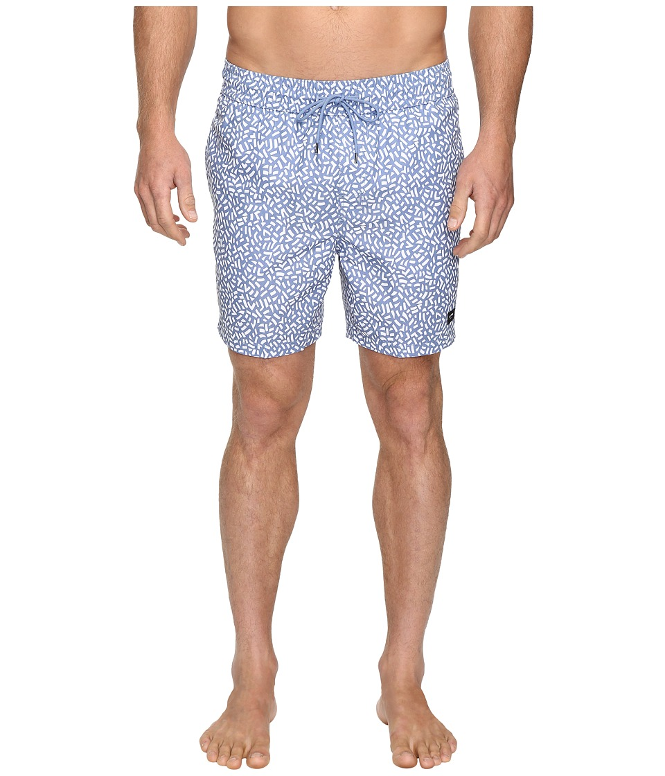 Jack Spade Confetti Print Swimwear (Blue/White) Men