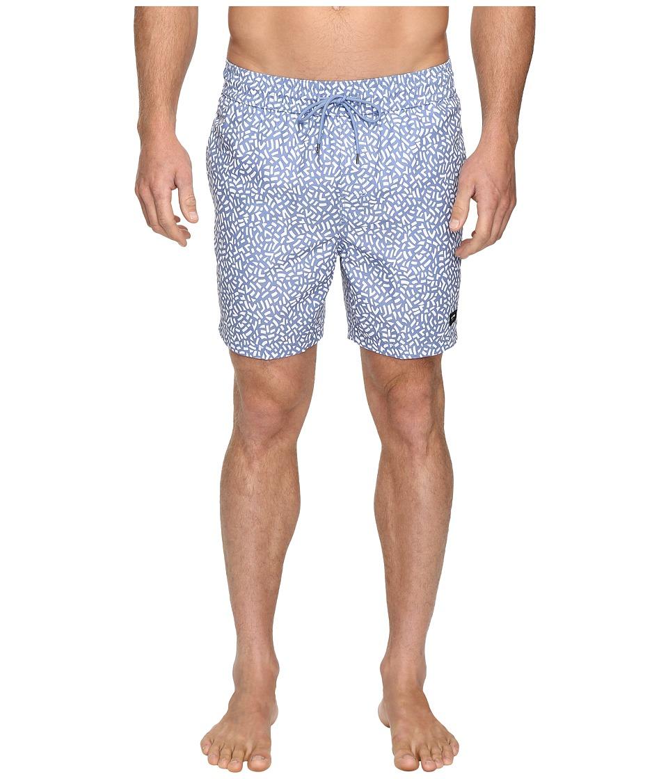 Jack Spade - Confetti Print Swimwear (Blue/White) Men's Swimwear