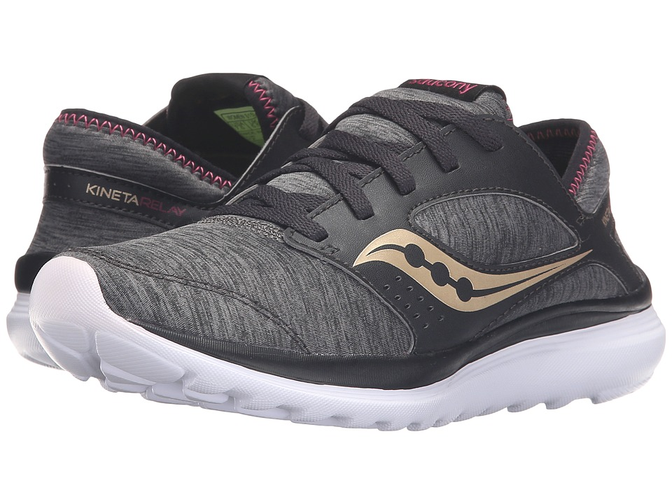 Saucony Kineta Relay (Heathered/Black) Women