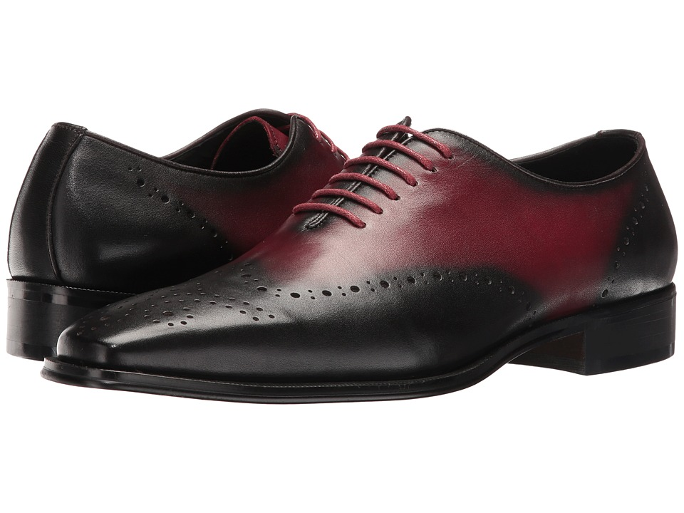 Carrucci - Frank (Black/Burgundy) Men's Shoes
