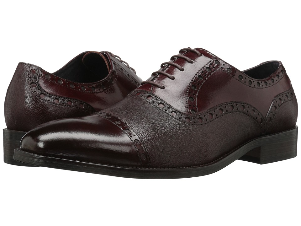 Carrucci - The Boss (Burgundy) Men's Shoes