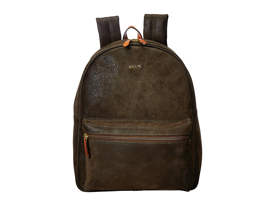 Bric's Milano - Life - Medium Dolce Backpack (Olive) Backpack Bags