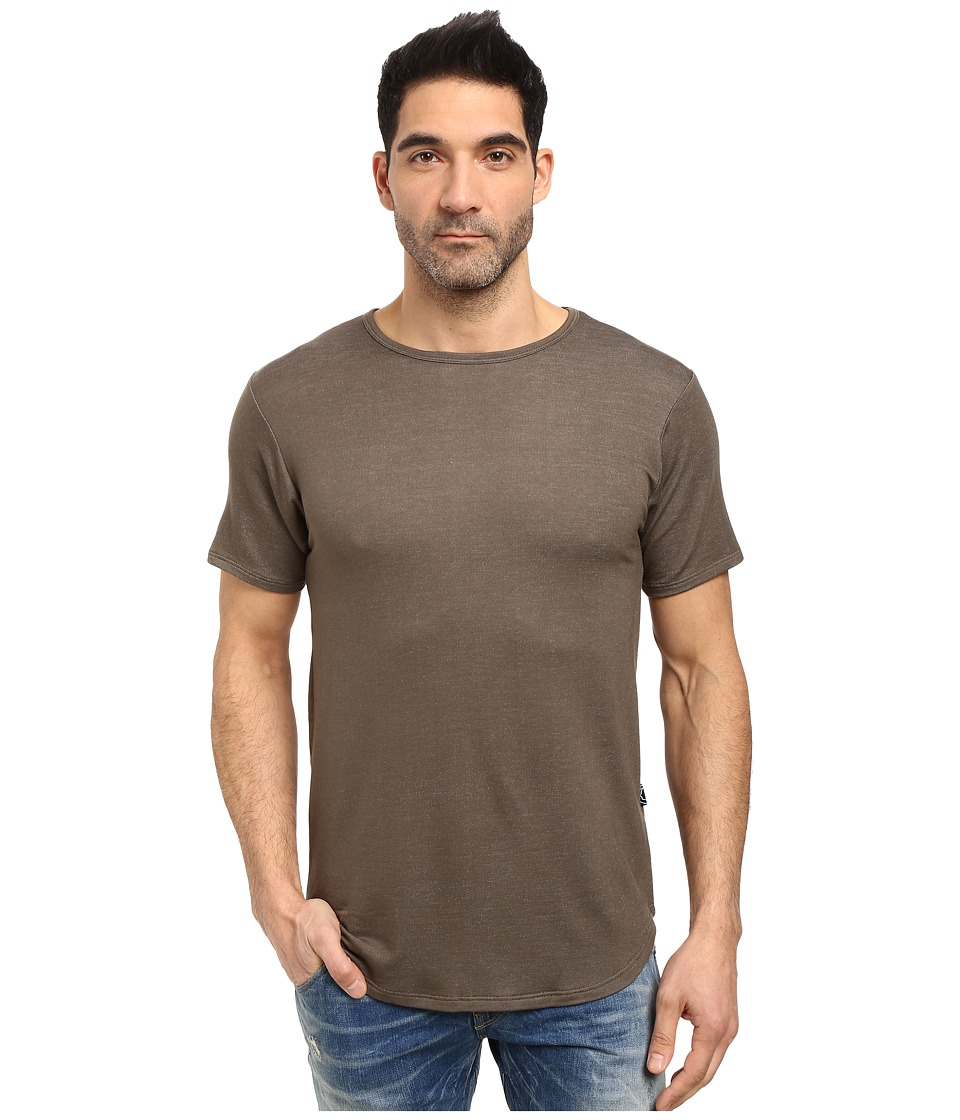 Rustic Dime - Heather French Terry Long Tee (Olive) Men's T Shirt