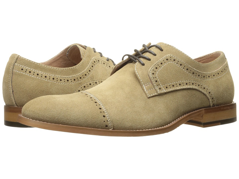 Stacy Adams - Dobson (Sand Suede) Men's Shoes