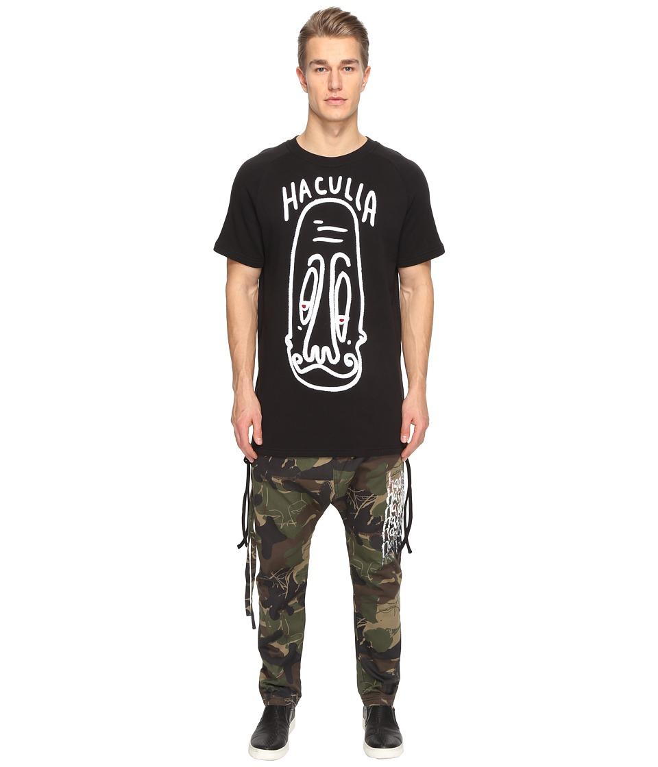 Haculla - Long Face Long Tee (Black) T Shirt