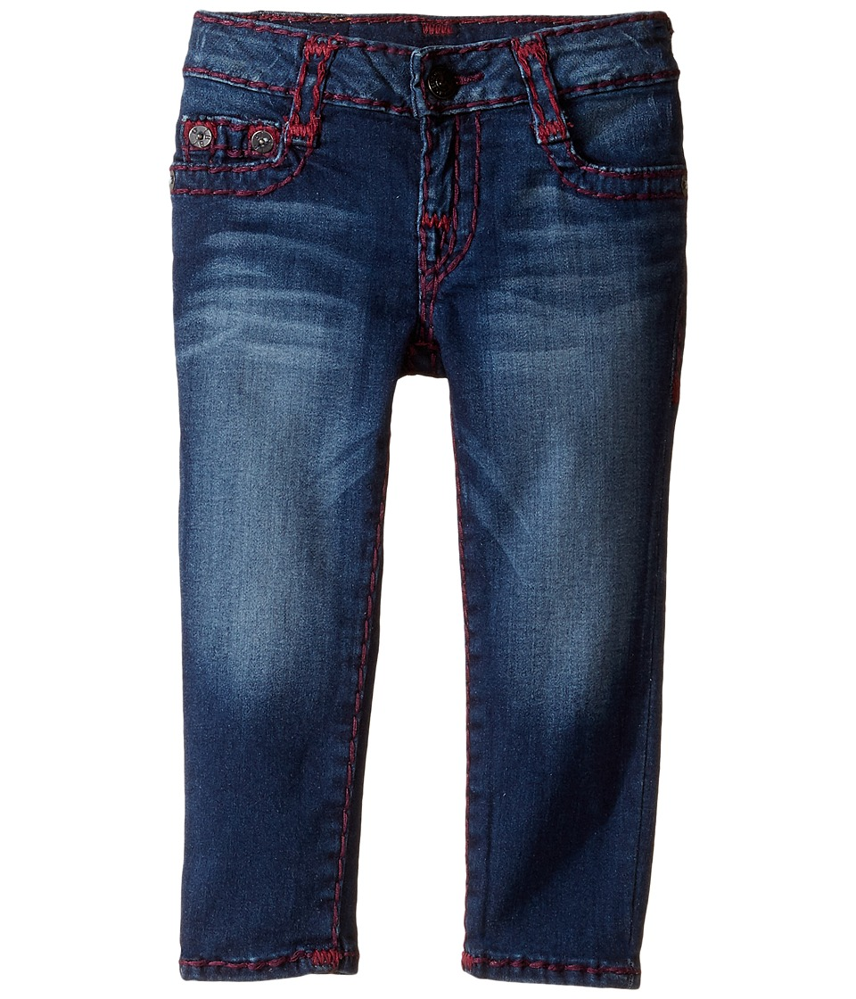 True Religion Kids - Casey Super T Jeans (Toddler/Little Kids) (Heather Sky) Girl's Jeans