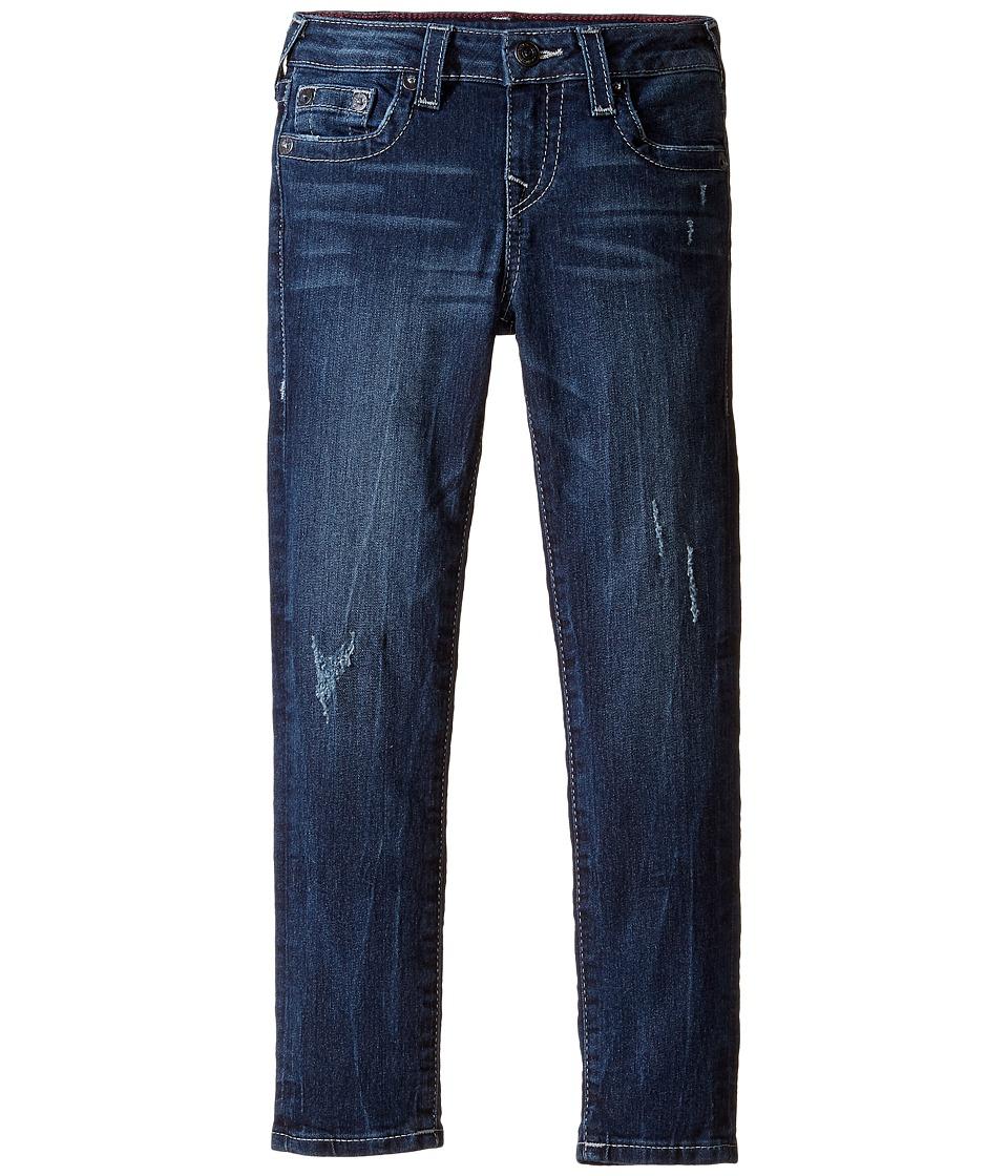 True Religion Kids Casey Jeans in Chrome Blue (Toddler/Little Kids) (Chrome Blue) Girl