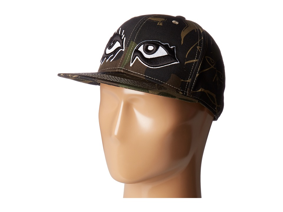 Haculla - Eyes Open Hat (Camo) Traditional Hats