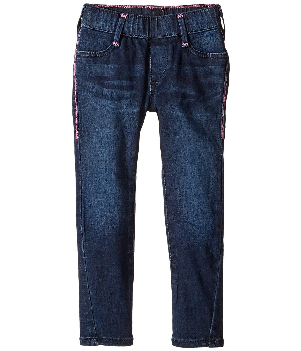 True Religion Kids - Casey Leggings (Toddler/Little Kids) (Lexington Wash) Girl's Casual Pants