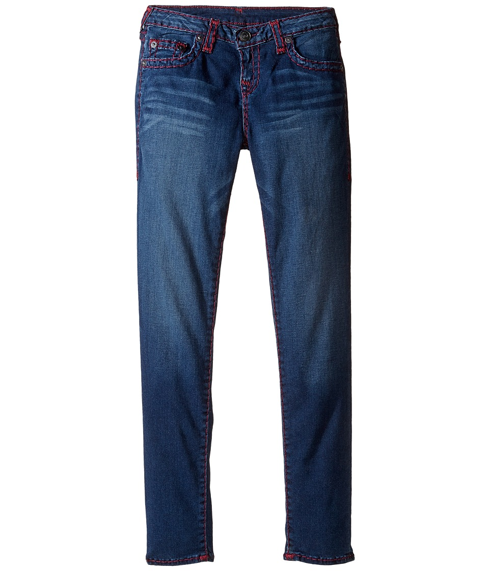True Religion Kids - Casey Super T Jeans (Big Kids) (Heather Sky) Girl's Jeans