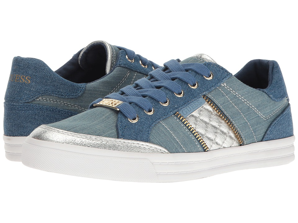 GUESS - Flann (Denim) Women's Shoes