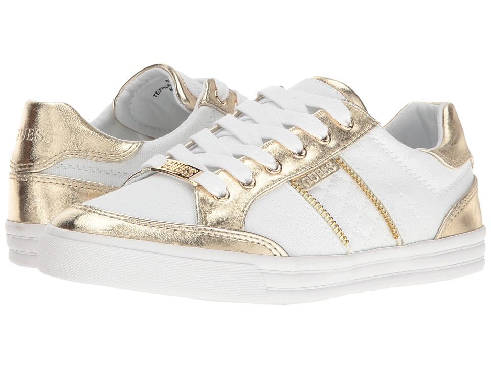 GUESS - Flann (White) Women's Shoes
