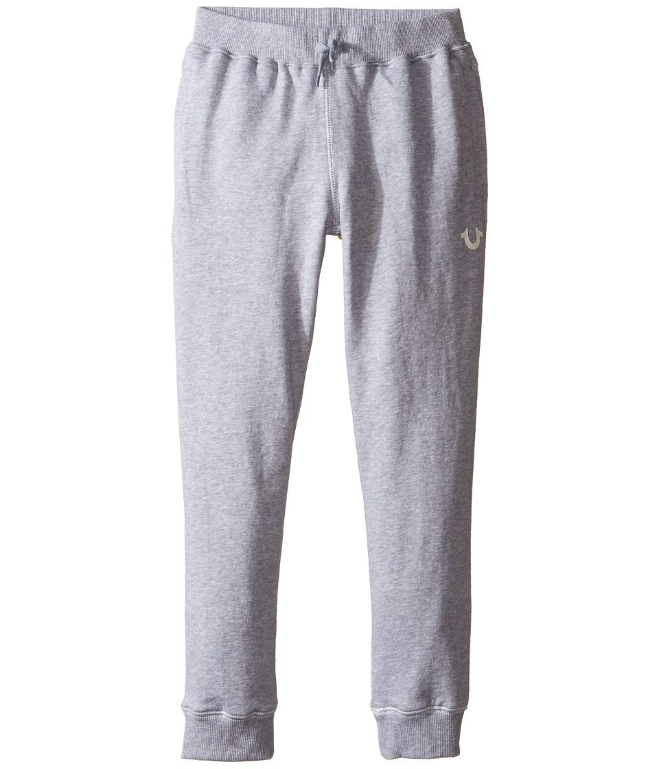 True Religion Kids - French Terry Sweatpants (Big Kids) (Heather Grey) Boy's Casual Pants