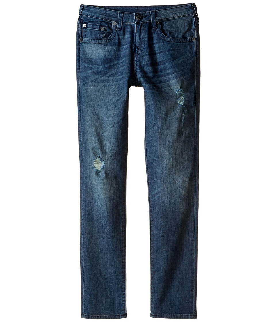 True Religion Kids - Rocco Skinny Single End Jeans in Ink Pot (Big Kids) (Ink Pot) Boy's Jeans