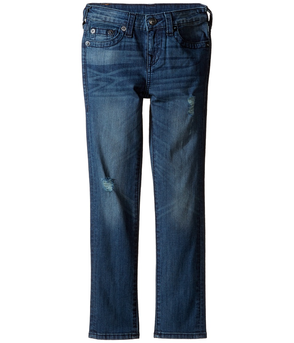 True Religion Kids - Rocco Skinny Single End Jeans in Ink Pot (Toddler/Little Kids) (Ink Pot) Boy's Jeans