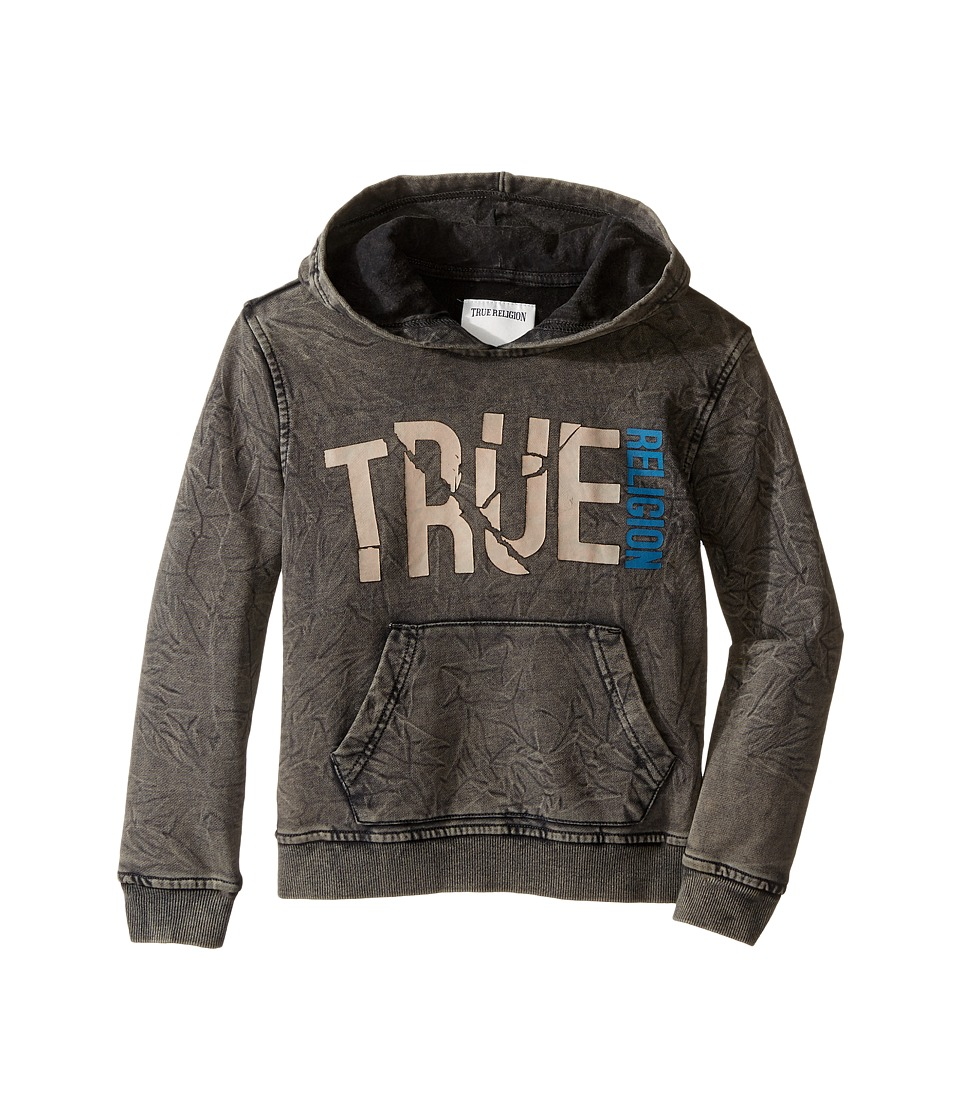 True Religion Kids - Shattered Hoodie (Toddler/Little Kids) (Black) Boy's Sweatshirt