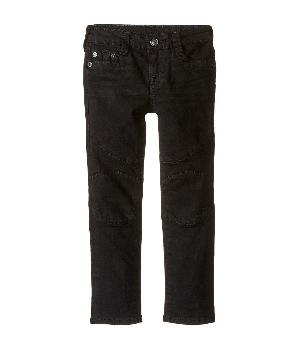 True Religion Kids - Rocco Moto Jeans in Smoke (Toddler/Little Kids) (Smoke) Boy's Jeans