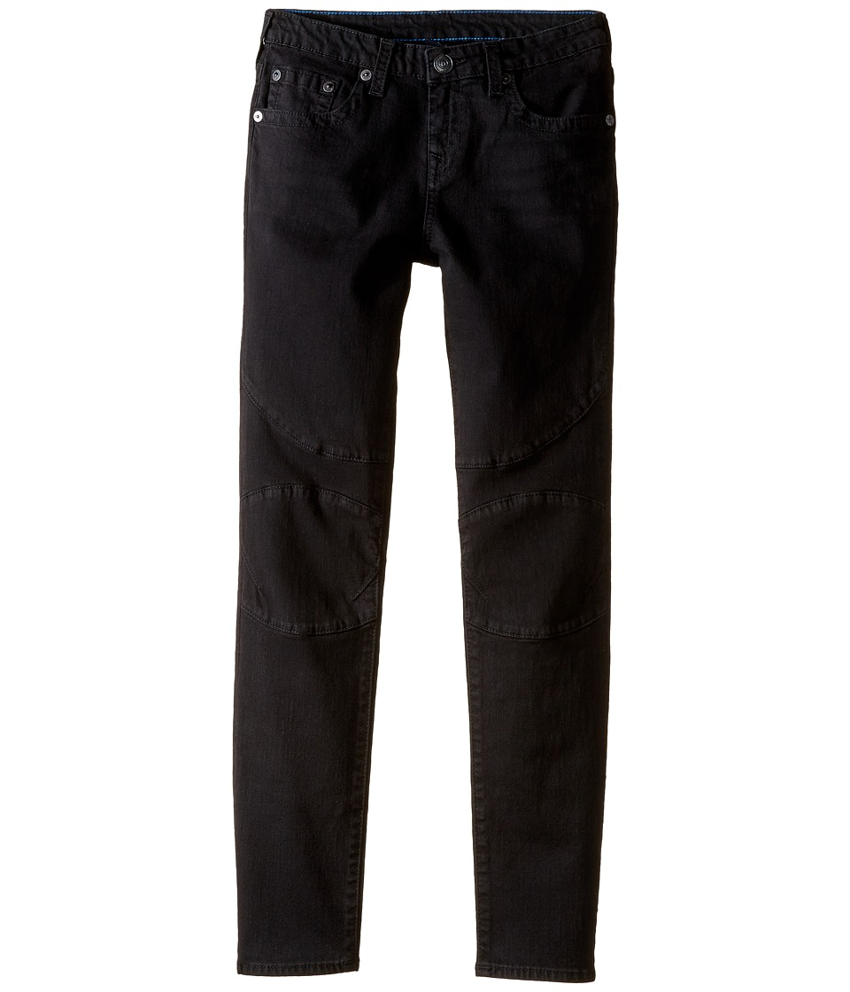 True Religion Kids - Rocco Moto Jeans in Smoke (Big Kids) (Smoke) Boy's Jeans