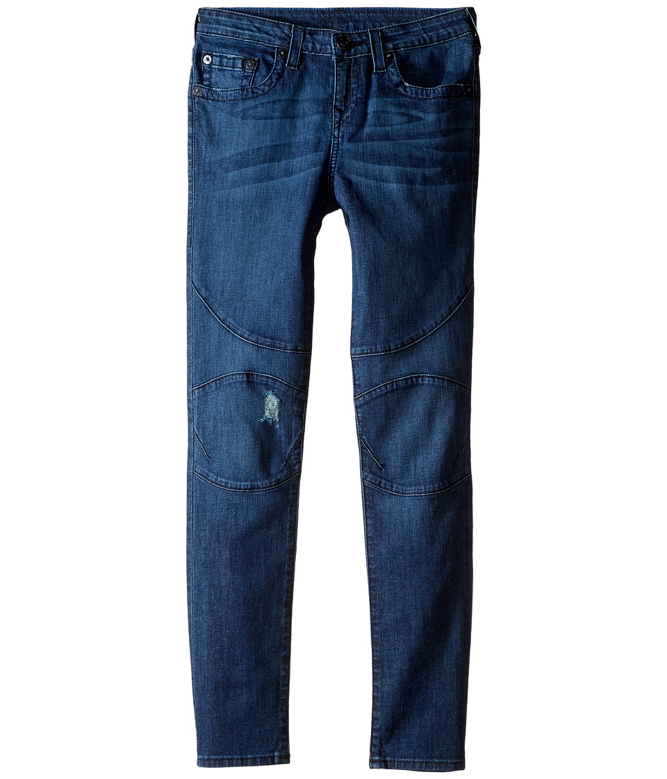 True Religion Kids - Rocco Moto Jeans in Roadster Blue (Big Kids) (Roadster Blue) Boy's Jeans