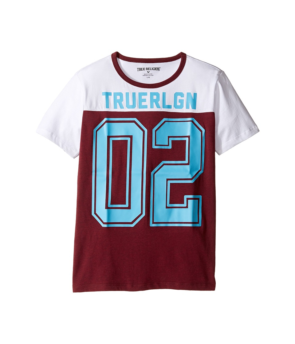 True Religion Kids - Varsity Tee (Big Kids) (Broadway) Boy's T Shirt
