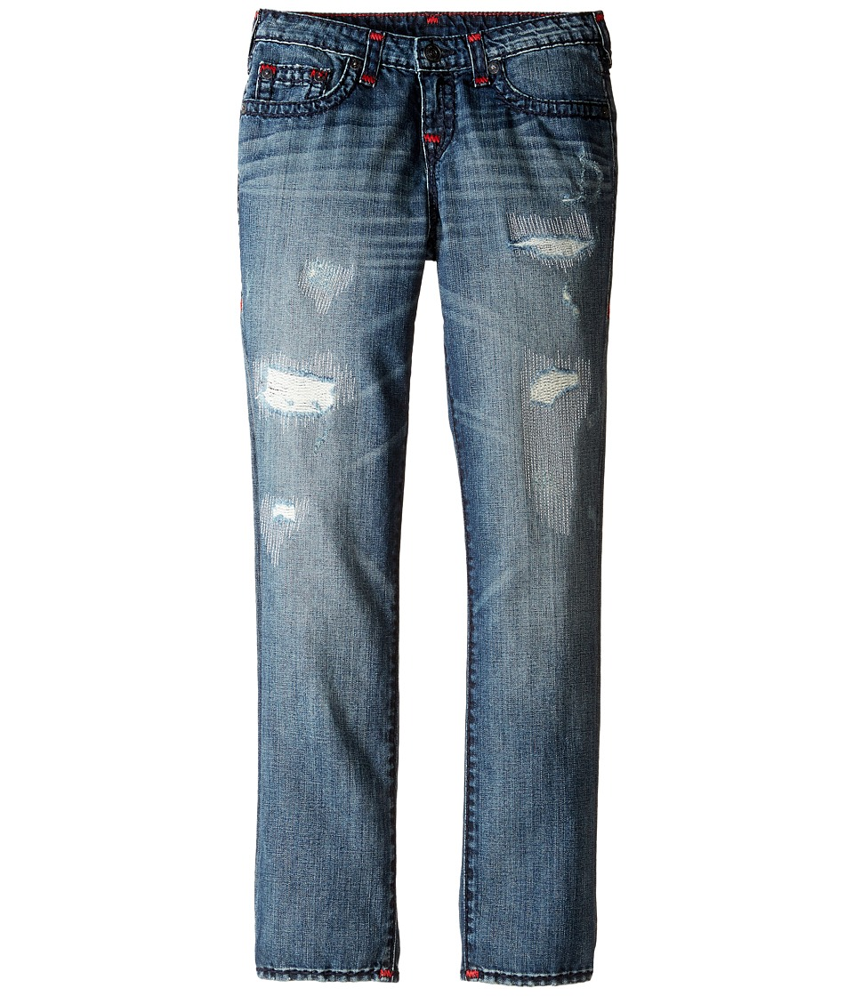 True Religion Kids Geno Super T Jeans in Tarnished Wash (Big Kids) (Tarnished Wash) Boy