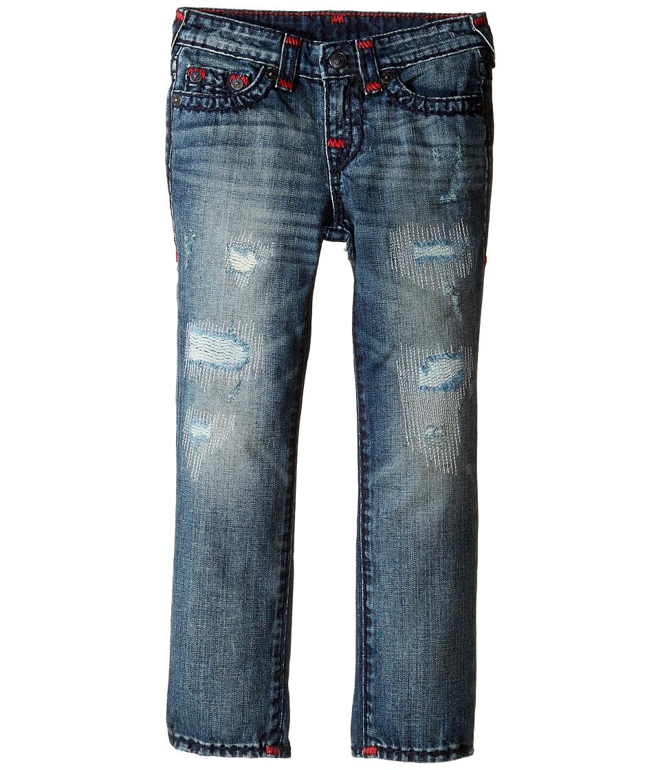 True Religion Kids Geno Super T Jeans in Tarnished Wash (Toddler/Little Kids) (Tarnished Wash) Boy