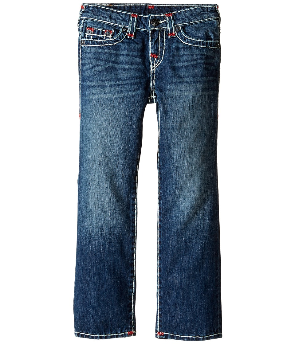 True Religion Kids - Ricky Super T Jeans in Grand Wash (Toddler/Little Kids) (Grand Wash) Boy's Jeans