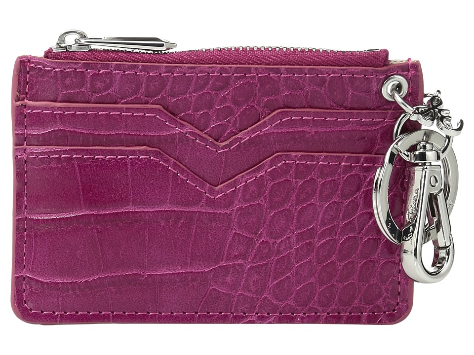 Sam Edelman - Coin Purse (Fuchsia Croco Leather) Coin Purse
