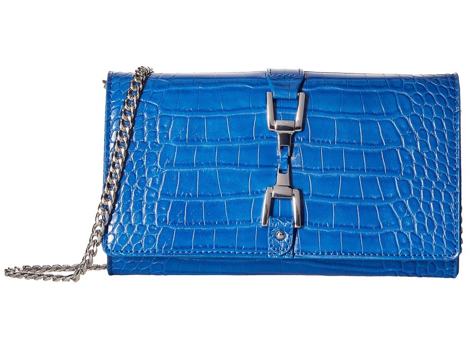 Sam Edelman - Gigi (Ink Croco Leather) Handbags