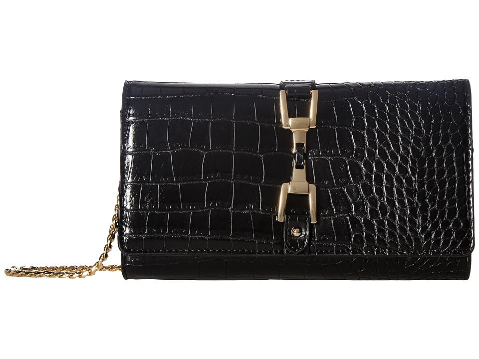 Sam Edelman - Gigi (Black Croco Leather) Handbags