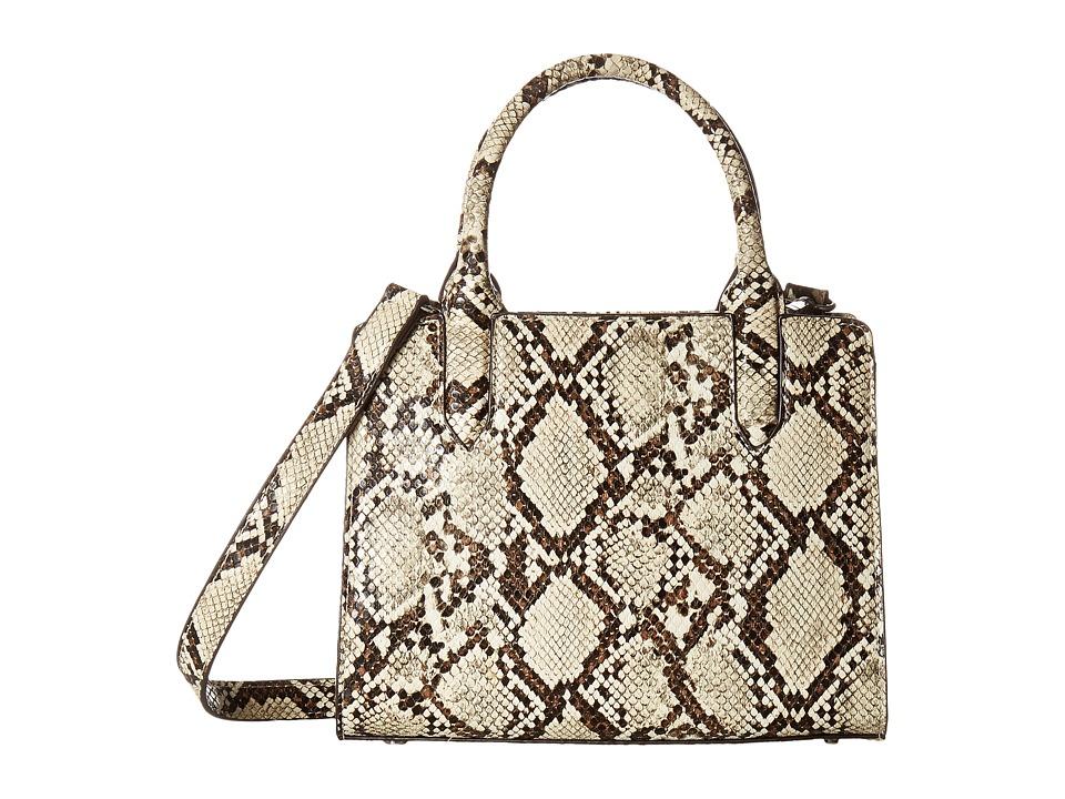 Sam Edelman - Alisa Tote (Natural Python) Tote Handbags