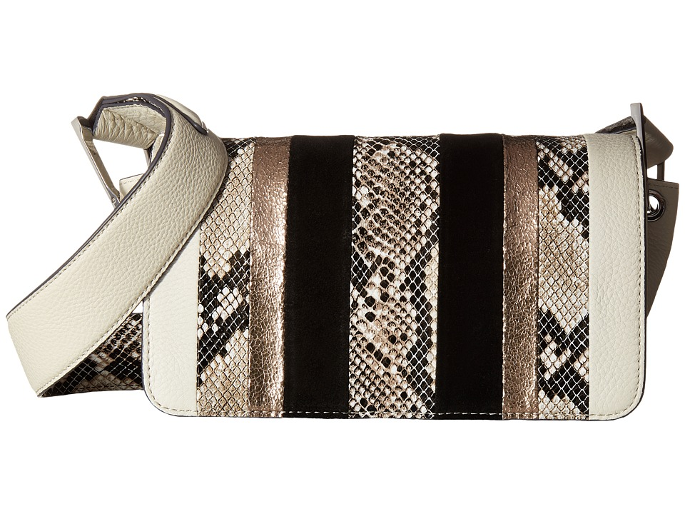 Sam Edelman - Sally Boy Bag (Winter White Multi) Handbags