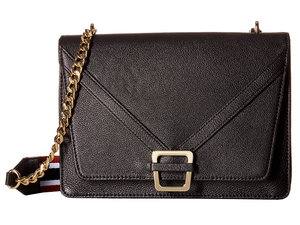 Sam Edelman - Madeline Shoulder (Black Leather) Shoulder Handbags
