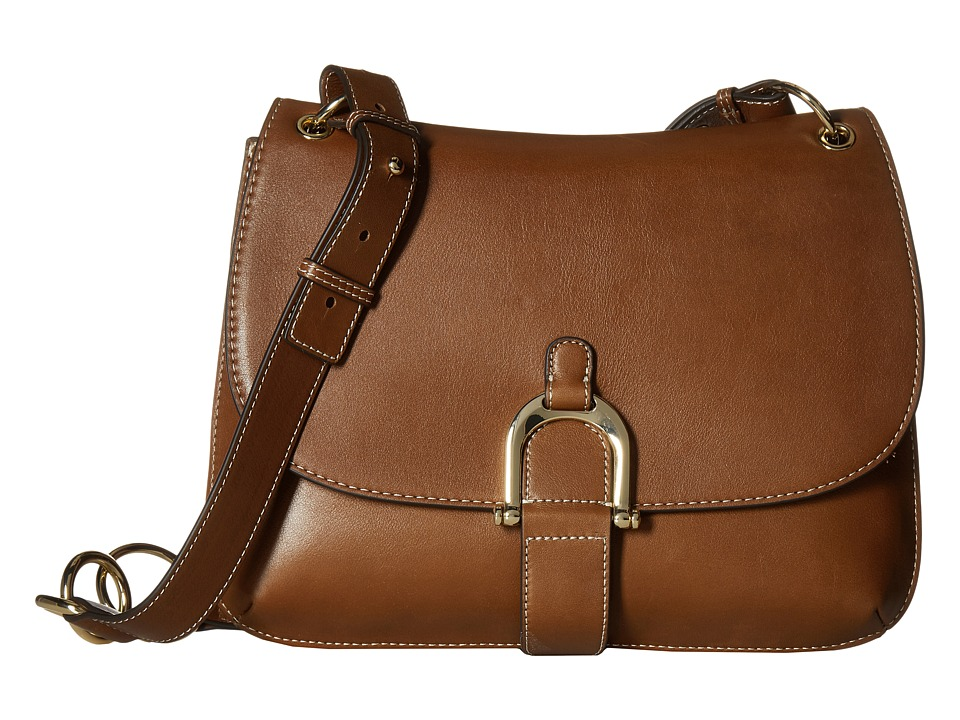 Sam Edelman - Delilah Saddle (Cinnamon Leather) Handbags