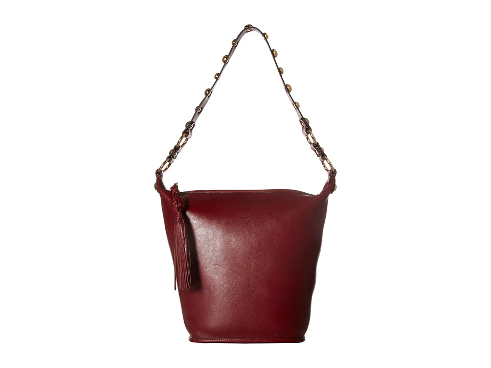Sam Edelman - Marsha Bucket (Tango Red Leather) Handbags