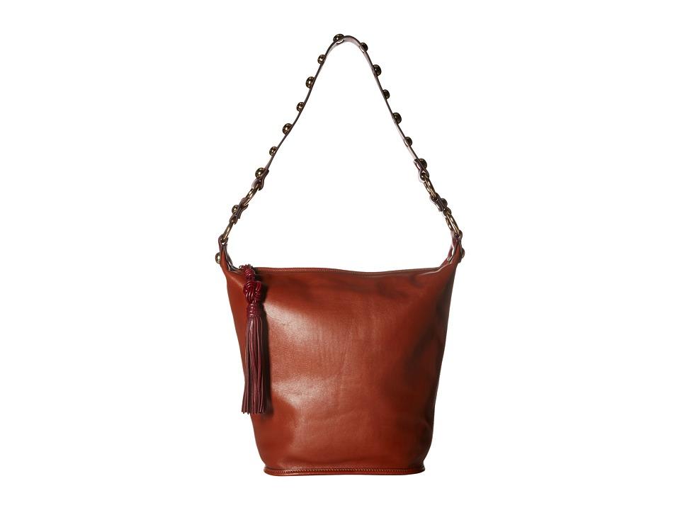 Sam Edelman - Marsha Bucket (Cinnamon Leather) Handbags