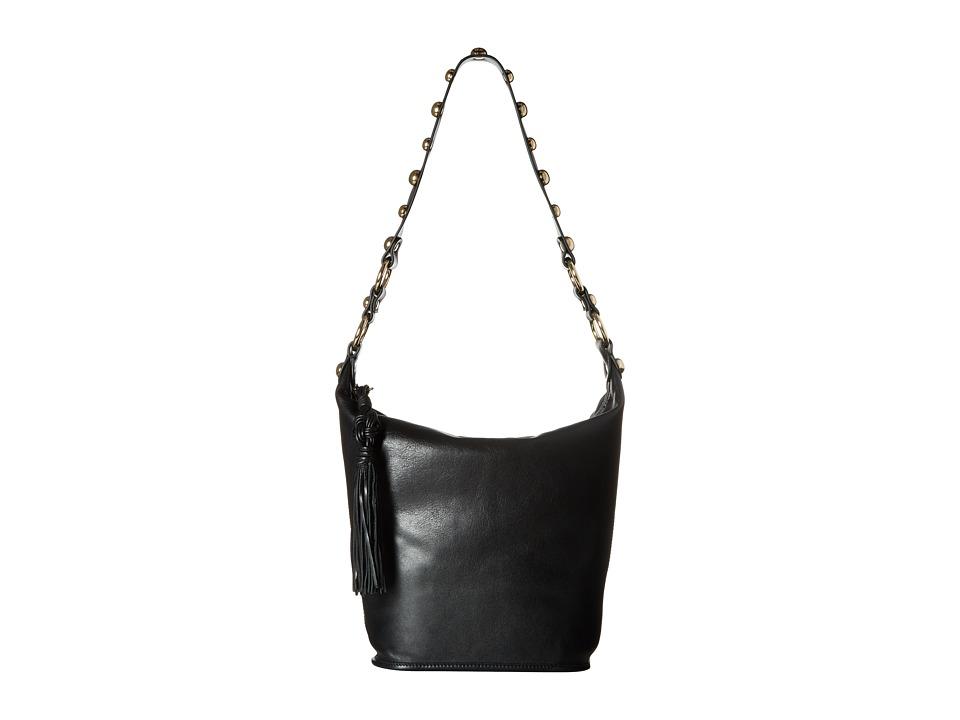 Sam Edelman - Marsha Bucket (Black Leather) Handbags