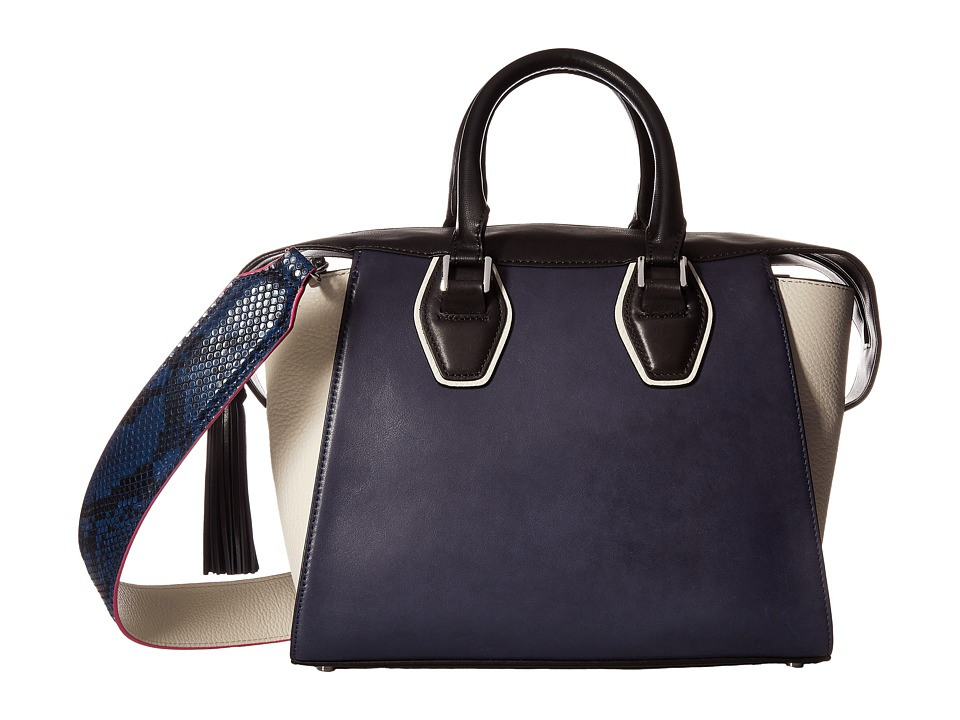 Sam Edelman - Jodie Tote (Ink Navy Leather) Tote Handbags