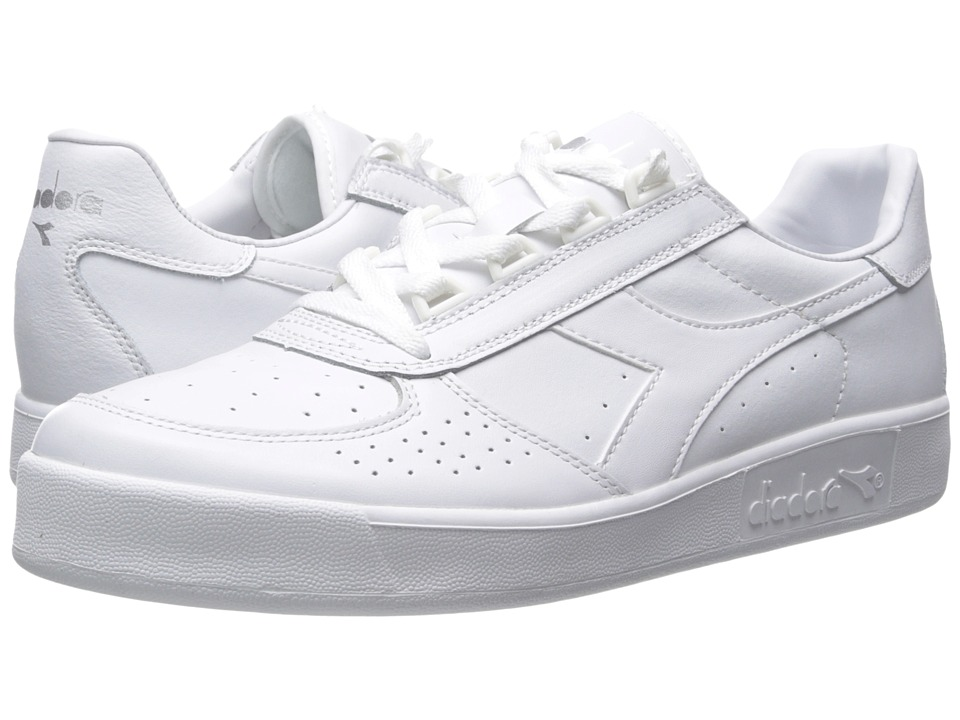 Diadora - B. Elite (White Optical/White Pristine) Men's Shoes