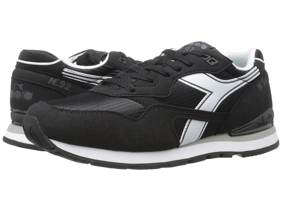 Diadora - N-92 (Black/White) Athletic Shoes
