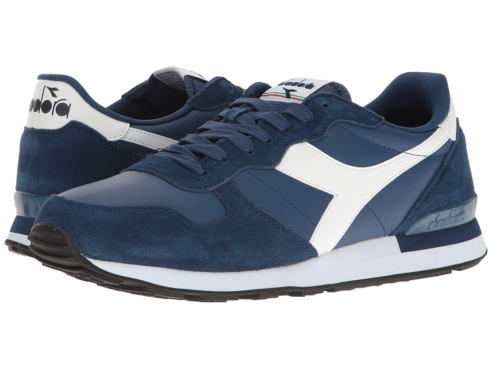 Diadora - Camaro Leather (Saltire Navy/White) Men's Shoes