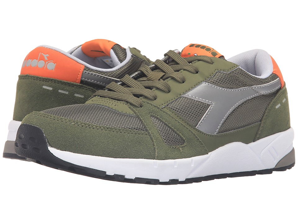 Diadora - Run 90 (Green Olivine) Men's Shoes