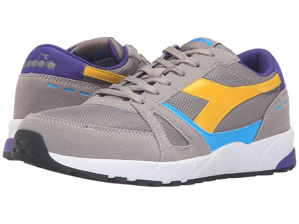 Diadora - Run 90 (Gray Ash Dust) Men's Shoes