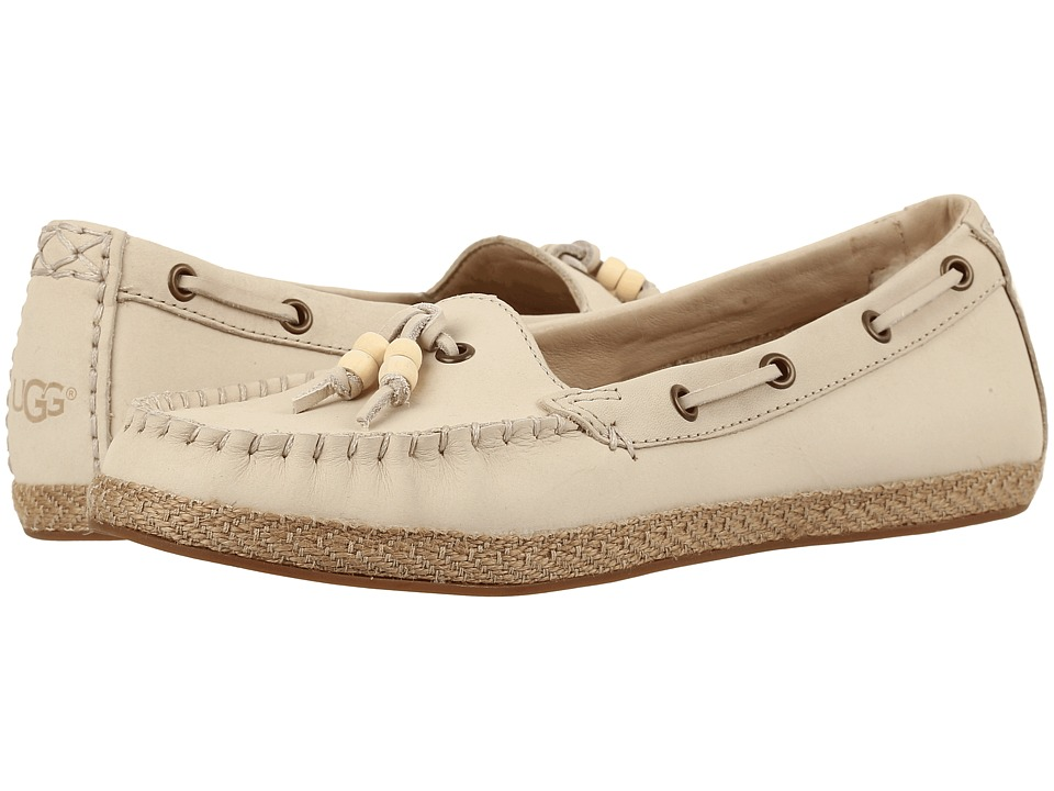 UGG - Suzette (Antique White) Women's Flat Shoes
