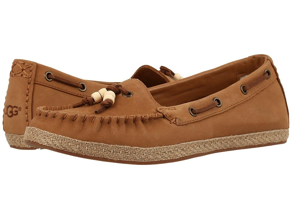 UGG - Suzette (Chestnut) Women's Flat Shoes